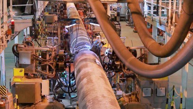 На «Северном потоке — 2» завершены все работы, первую нитку готовят к заполнению газом