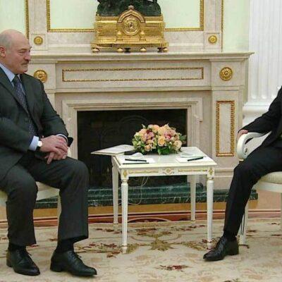 Владимир Путин встретился с президентом Белоруссии Александром Лукашенко