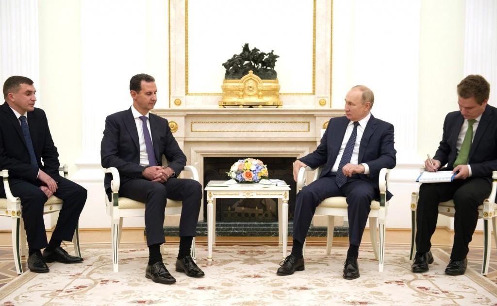 Президенты России и Сирии высоко оценили усилия двух стран в борьбе с терроризмом