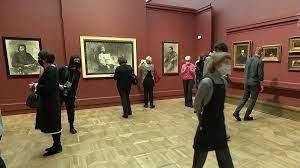 В залах Третьяковки проходит выставка работ великого Ильи Репина