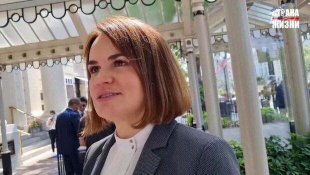 Светлану Тихановскую, экс-кандидата в президенты Белоруссии, угостили печеньками из Белого дома