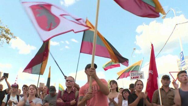 В Литве накануне принятия новых антиковидных мер начались беспорядки