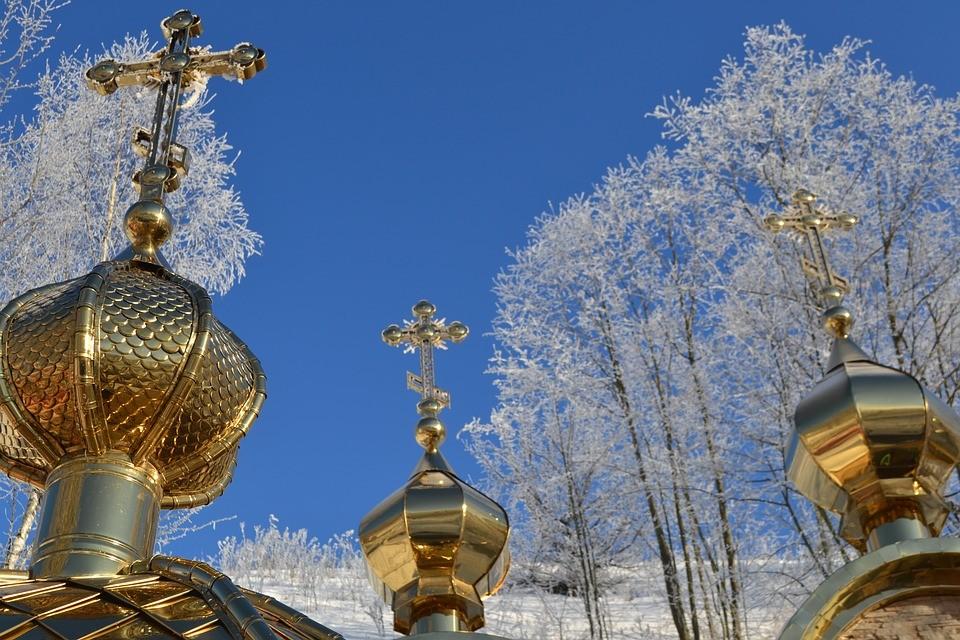 Православные верующие отмечают Сретение Господне