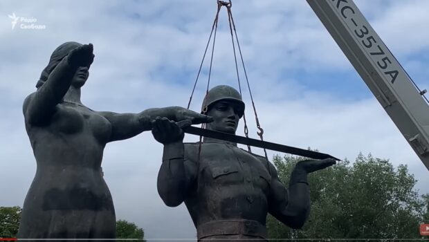 Во Львове полностью разрушили Монумент Славы