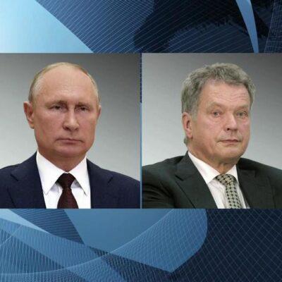 Ситуация на Украине стала одной из тем разговора по телефону Владимира Путина с президентом Финляндии