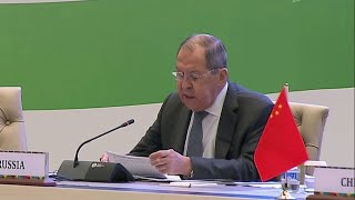В Ташкенте Сергей Лавров проводит двусторонние встречи с президентами Узбекистана и Афганистана