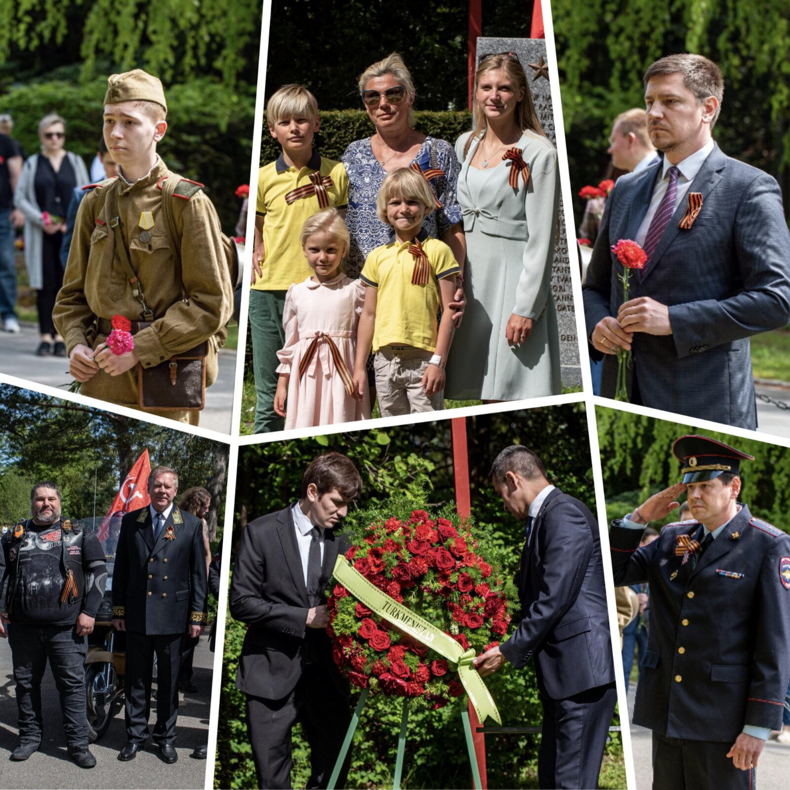 В Швейцарии прошла мемориальная церемония, посвященная 76-й годовщине Победы над фашизмом