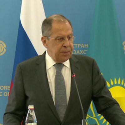 Линию США в отношении России прокомментировал Сергей Лавров после переговоров в Казахстане
