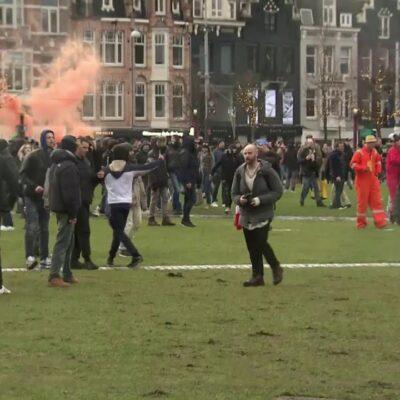 В Европе проходят новые протесты на фоне коронавирусных ограничений