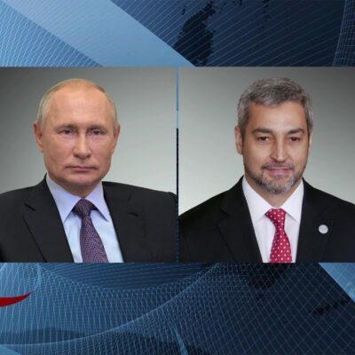 Президент Парагвая поблагодарил Владимира Путина за возможность использовать в его стране «Спутник V»