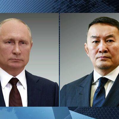 Борьба с коронавирусом стала одной из тем телефонного разговора лидеров России и Монголии