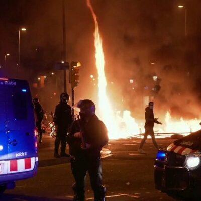 В Испании волна беспорядков после задержания рэп-исполнителя докатилась до столицы