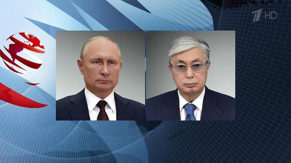Состоялся телефонный разговор Владимира Путина с президентами Казахстана и Узбекистана
