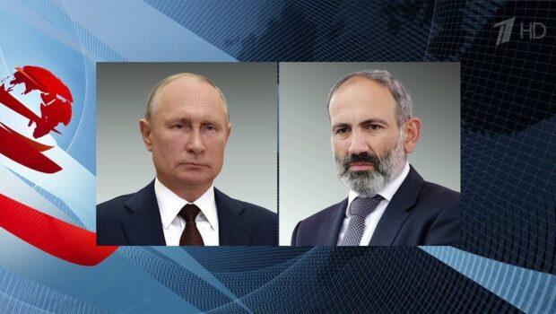 Владимир Путин провел ряд международных телефонных переговоров