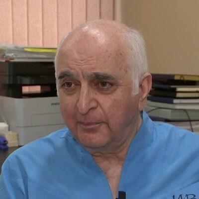 Выдающийся кардиохирург, академик РАН Баграт Алекян принимает поздравления с 70-летием