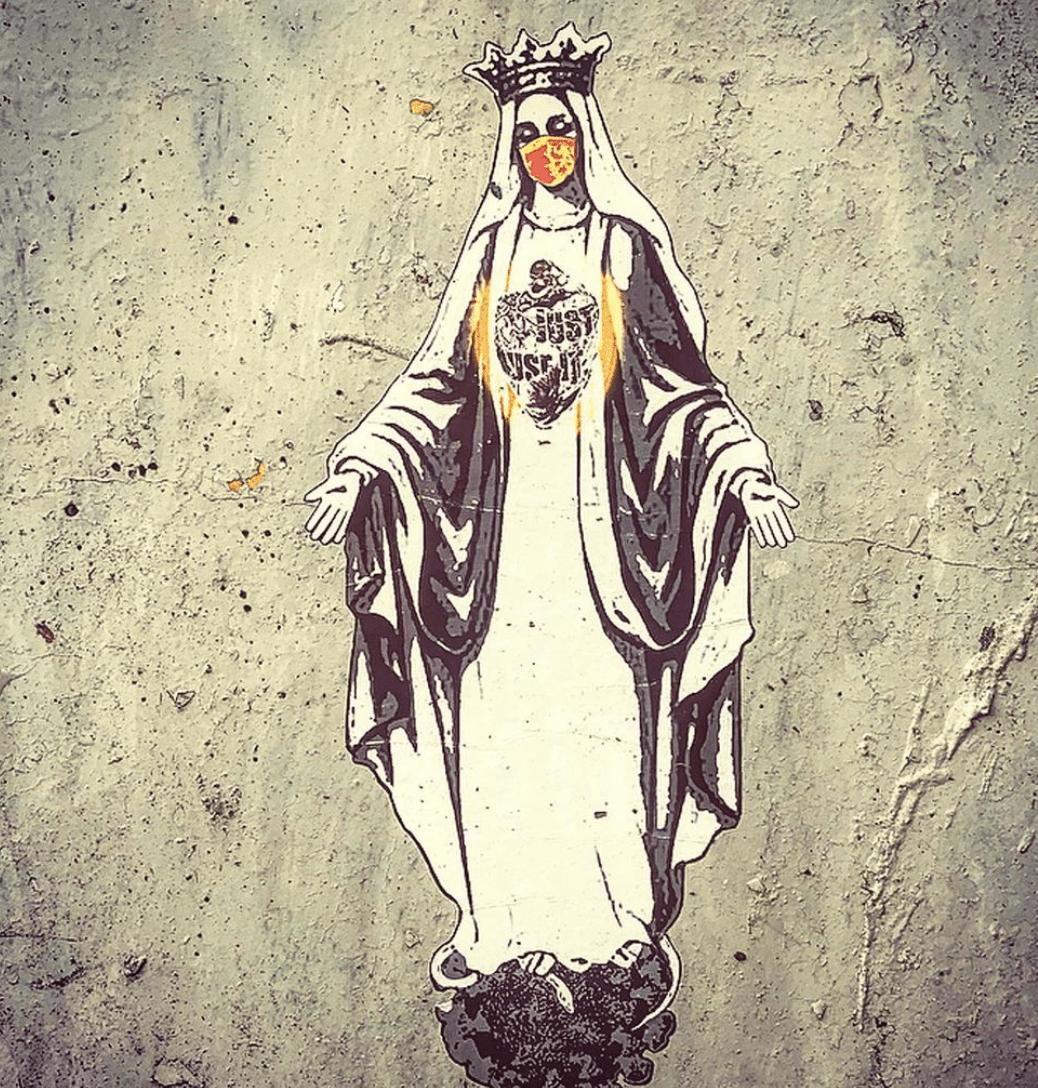 Автор граффити подала в суд на «Vatican Post Office»