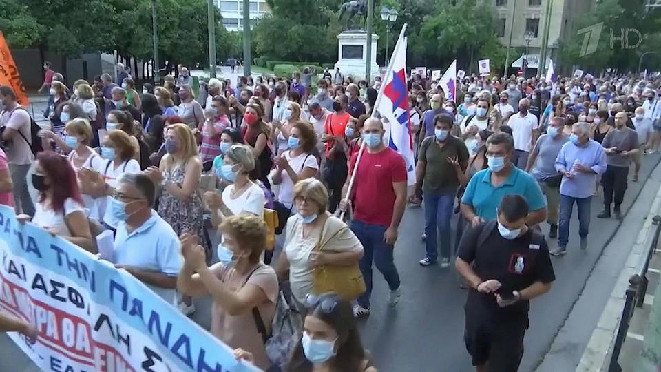В Европе продолжается волна протестов против антиковидных пропусков