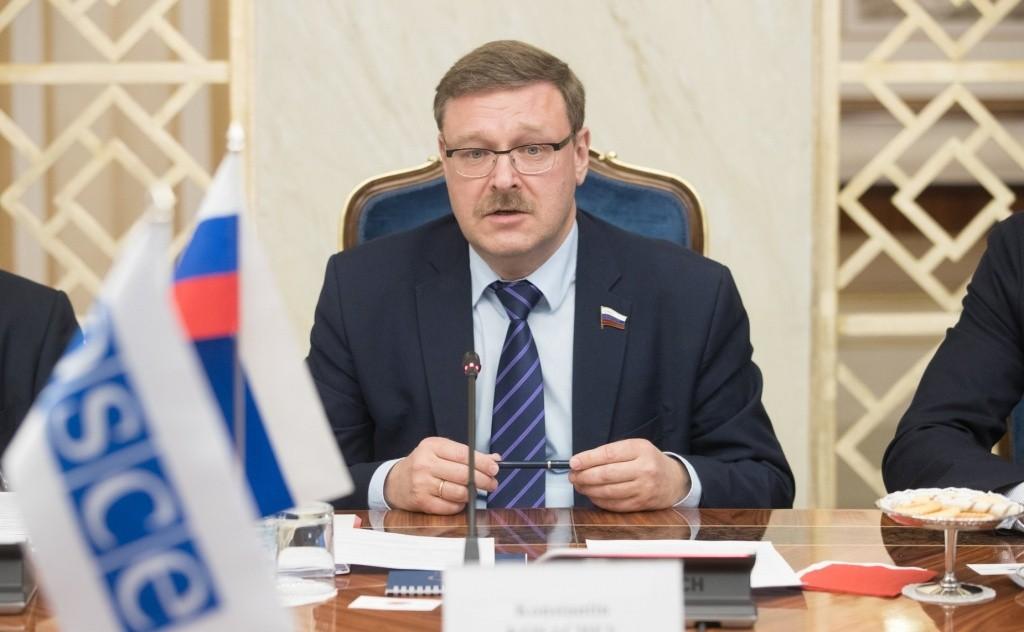 Константин Косачёв назвал политическим проектом «помощь» Великобритании по Крыму