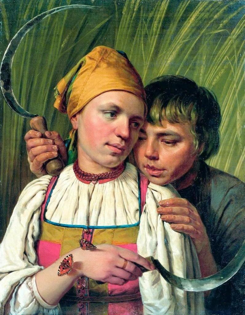 Выставка картин Алексея Венецианова открылась в Третьяковской галерее