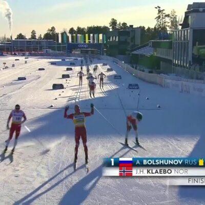 Российские лыжницы завоевали медаль в эстафете на чемпионате мира в Германии