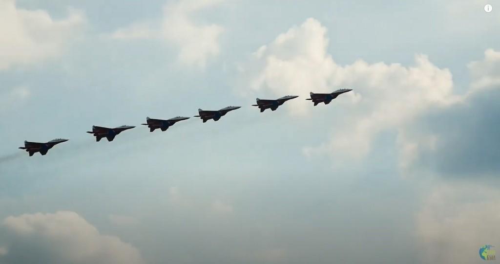 XV авиасалон МАКС открылся в Жуковском