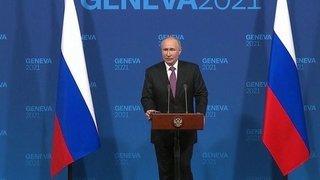Президент России ответил на вопросы журналистов по завершении саммита России и США
