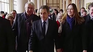 Экс-президент Франции Николя Саркози признан виновным по нескольким статьям и приговорен к тюремному сроку