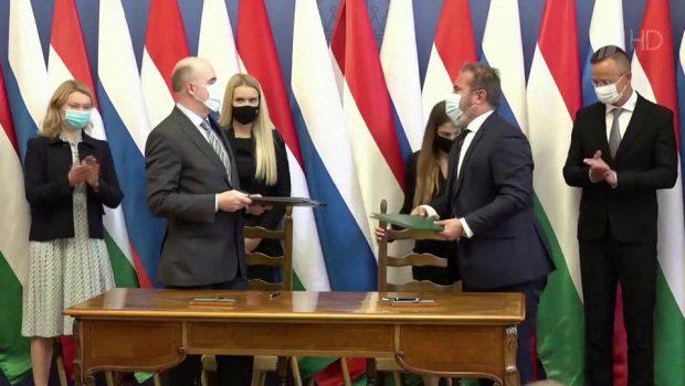 Глава МИД Венгрии назвал вмешательством реакцию Украины на контракт с Россией