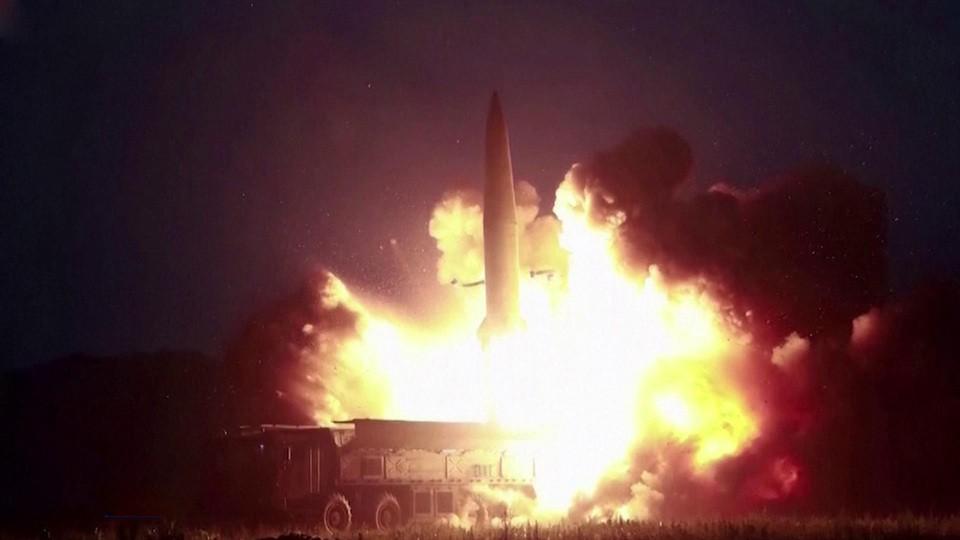Северная Корея провела испытания крылатых ракет большой дальности нового типа