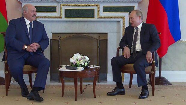 В Санкт-Петербурге состоялась встреча Владимира Путина с Александром Лукашенко