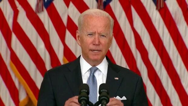 Спустя сутки после того, как Афганистан покинул последний американский солдат, Джо Байден обратился к нации