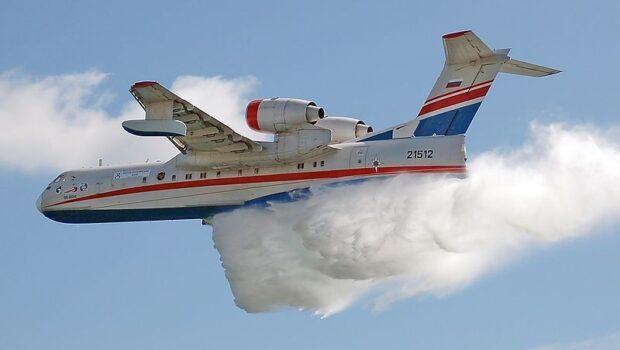 Российские самолёты тушат лесные пожары в Турции